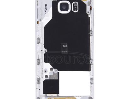 Middle Frame Bezel for Galaxy Note 5 / N9200(White)