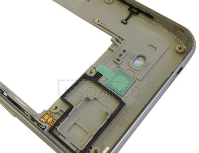 Rear Housing Frame for Galaxy J7 V J727V (Verizon) (Gold)