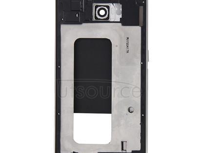 Full Housing Cover (Front Housing LCD Frame Bezel Plate + Back Plate Housing Camera Lens Panel ) for Galaxy S6 / G920F(White)
