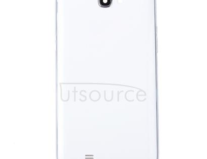 Middle Frame Bezel + Battery Back Cover for Galaxy Note II / N7100(White)