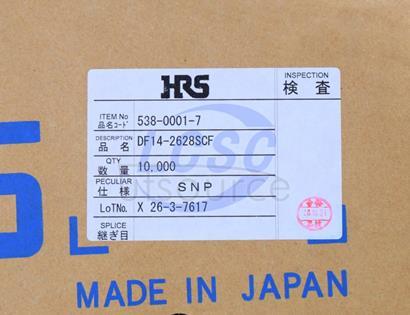 Hirose/HRS DF14-2628SCF