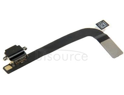 Tail Connector Charger Flex Cable for iPad 4(Black)