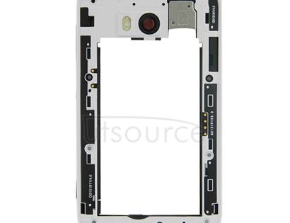 Middle Frame Bezel for Nokia Lumia 822(White)