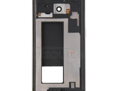 Full Housing Cover (Front Housing LCD Frame Bezel Plate + Back Plate Housing Camera Lens Panel ) for Galaxy S6 Edge / G925(Silver)