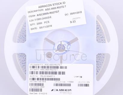 Abracon LLC AISC-0805-R027G-T
