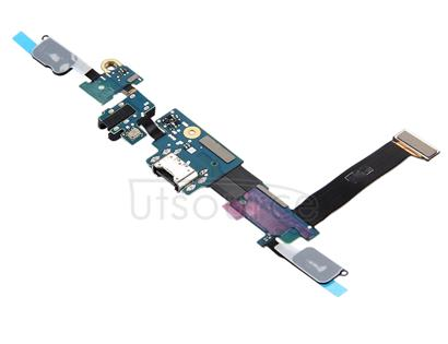 for Galaxy C7 Pro / C701F Charging Port + Home Button + Earphone Jack Flex Cable