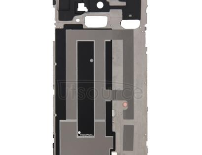Full Housing Cover (Front Housing LCD Frame Bezel Plate + Battery Back Cover ) for Galaxy Note 4 / N910F(Black)