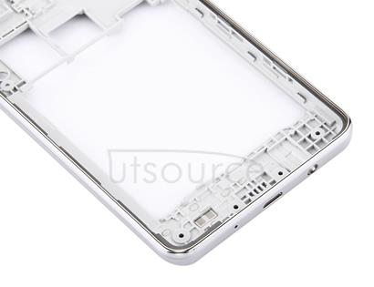 for Galaxy On5 / G5500 Middle Frame Bezel (Double Card Version)(Silver)