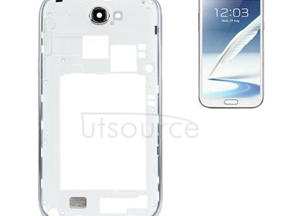 High Quality Middle Board for Galaxy Note II / N7100(White)
