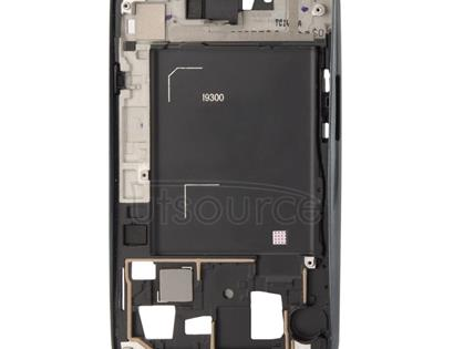 2 in 1 for Galaxy S III / i9300 (Original LCD Middle Board + Original Front Chassis)(Black)