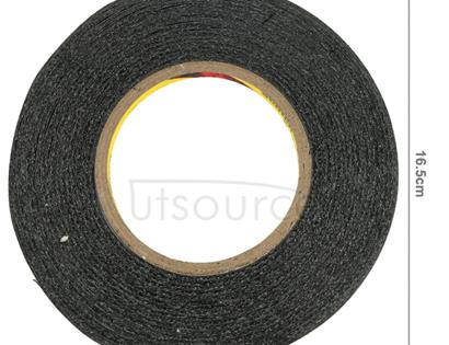 10mm 3M Double Sided Adhesive Sticker Tape for iPhone / Samsung / HTC Mobile Phone Touch Panel Repair, Length: 50m(Black)