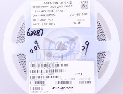 Abracon LLC AISC-0805F-4R7G-T