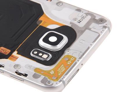 Middle Frame Bezel for Galaxy S6 Edge+ / G928(White)