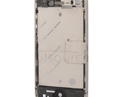 2 in 1 (Original  Front Bezel + Original Middle Board) for iPhone 4