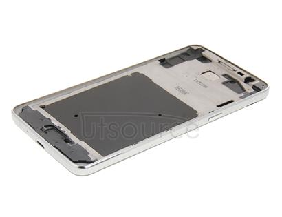 Full Housing Cover (Front Housing LCD Frame Bezel Plate + Middle Frame Bazel + Battery Back Cover) + Home Button for Galaxy Grand Prime / G530 (Dual SIM Card Version)(Grey)