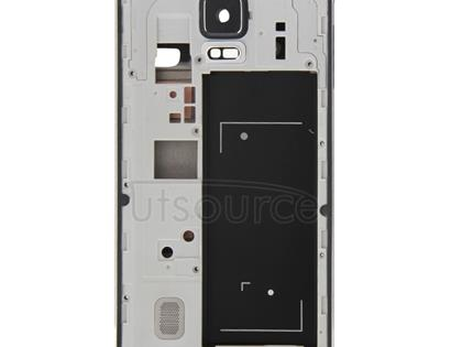 Full Housing Cover (Front Housing LCD Frame Bezel Plate + Middle Frame Bazel Back Plate Housing Camera Lens Panel ) for Galaxy Note 4 / N910F(Black)