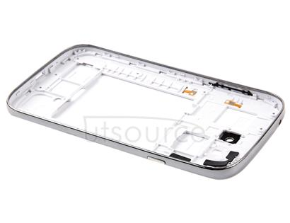 Middle Frame Bezel + Battery Back Cover for Galaxy Grand Duos / i9082(White)