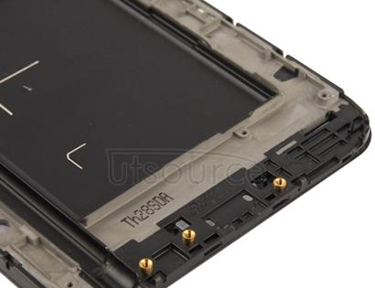 2 in 1 for Galaxy Note / i9220 (Original LCD Middle Board + Original Front Chassis)(Black)