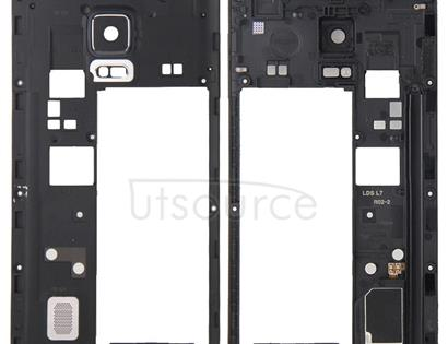 Middle Frame Bezel / Rear Housing  for Galaxy Note Edge / N915(Black)