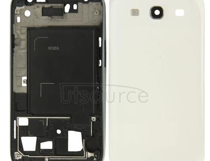 Full Housing Faceplate Cover for Galaxy SIII LTE / i9305(White)