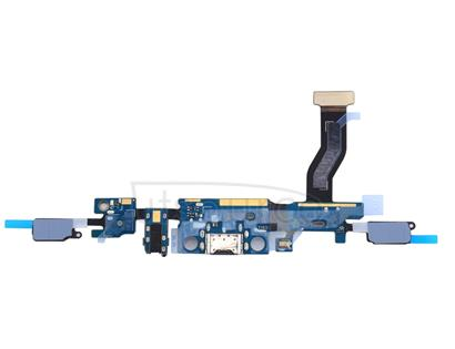 Charging Port + Earphone Jack Flex Cable for Galaxy C9 Pro