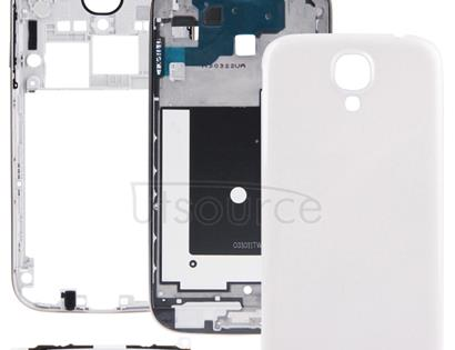 Full Housing Faceplate Cover  for Galaxy S IV / i9500(White)