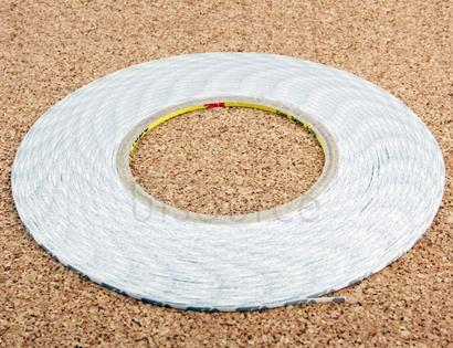 3mm 3M Double Sided Adhesive Sticker Tape for iPhone / Samsung / HTC Mobile Phone Touch Panel Repair, Length: 50m(White)