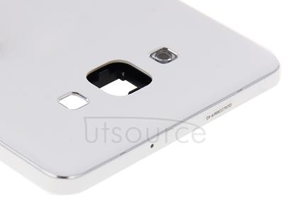 Full Housing Cover (Front Housing LCD Frame Bezel Plate + Rear Housing ) for Galaxy A7 / A700(White)