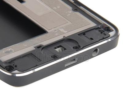 Full Housing Cover (Front Housing LCD Frame Bezel Plate + Rear Housing ) for Galaxy A3 / A300(Blue)