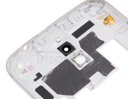 Full Housing Faceplate Cover  for Galaxy Mega 6.3 / i9200(White)