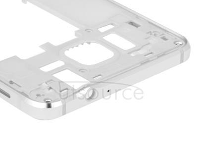 Middle Frame Bazel Back Plate Housing Camera Lens Panel  for Galaxy Alpha / G850