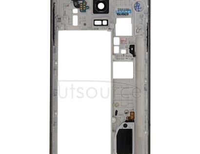 Full Housing Cover(Middle Frame Bazel Back Plate Housing Camera Lens Panel + Battery Back Cover) for Galaxy Note 4 / N910V(Black)