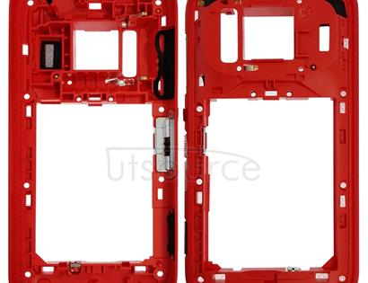 PureView Middle Frame Bezel for Nokia 808(Red)