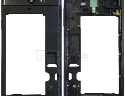 Rear Housing Frame for Galaxy J7 V J727V (Verizon) (Black)