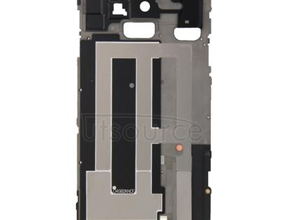 Full Housing Cover (Front Housing LCD Frame Bezel Plate + Battery Back Cover ) for Galaxy Note 4 / N910V(Black)