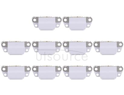 10 PCS Charging Port Connector for iPhone 8 Plus / 8(Grey)