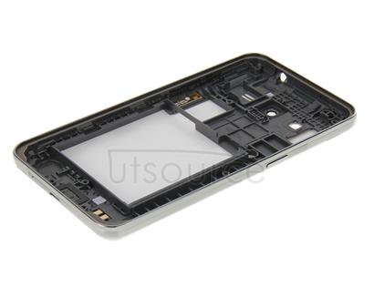 Full Housing Cover(Middle Frame Bazel + Battery Back Cover) + Home Button for Galaxy Core 2 / G355(White)
