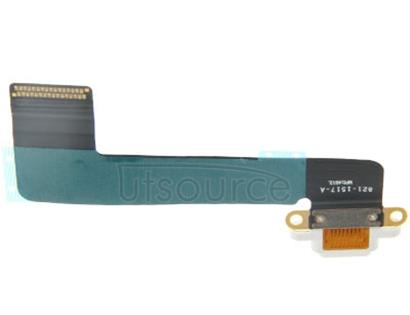 Tail Connector Charger Flex Cable for iPad mini 1 / 2 / 3(White)