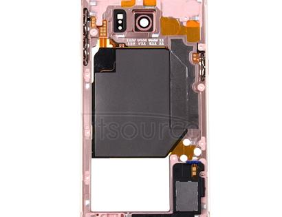 for Galaxy S6 Edge+ / G928 Middle Frame Bezel(Pink)
