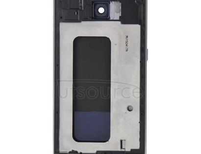 Full Housing Cover (Front Housing LCD Frame Bezel Plate + Back Plate Housing Camera Lens Panel + Battery Back Cover ) for Galaxy S6 / G920F(Blue)
