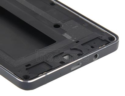 Full Housing Cover (Front Housing LCD Frame Bezel Plate + Rear Housing ) for Galaxy A5 / A500(Black)