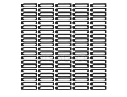 100 PCS Sponge Foam Slice Pads for iPhone 6s Plus Dock Connector Charging Port Gasket