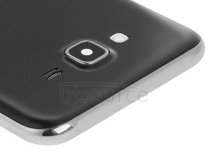 Full Housing Cover (Middle Frame Bazel + Battery Back Cover) for Galaxy J7(Black)