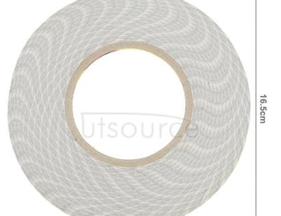 5mm 3M Double Sided Adhesive Sticker Tape for iPhone / Samsung / HTC Mobile Phone Touch Panel Repair, Length: 50m (White)