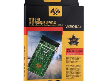 W208A+ Smartphone Battery Fast Charging and Activated Board 2 in 1 Tool for iPhone X & 8 Plus & 8 & 7 Plus & 6s Plus & 6s & 6 Plus & 6 & 5C & 5SE & 5S & 5 & 4S & 4