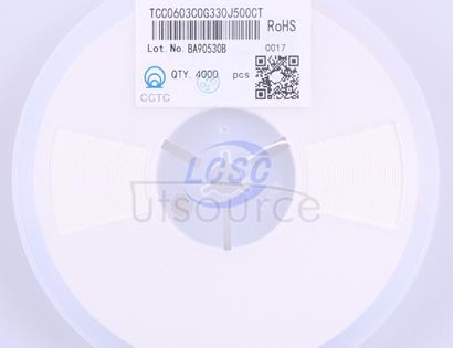 CCTC(三环) TCC0603C0G330J500CT