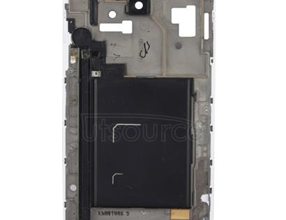 LCD Middle Board with Flex Cable,  for Galaxy Note i9220(White)