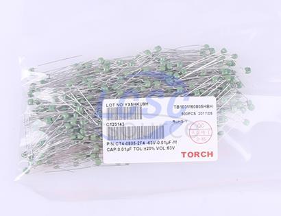 TORCH 10nF(103) ±20% 63V