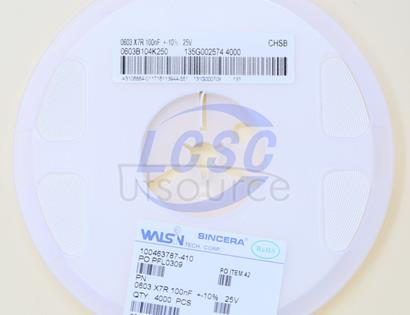 Huaxin S&T 0603B104K250