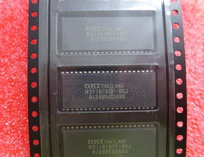 MSM5118160F-60JS 4,194,304-Word x 4-Bit DYNAMIC RAM : FAST PAGE MODE TYPE